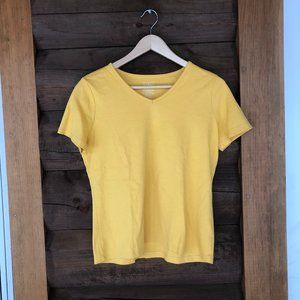 L. L. Bean Women's Yellow T-Shirt